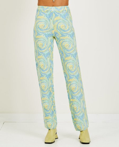 House of Sunny Cypress Pant - CUCMBER