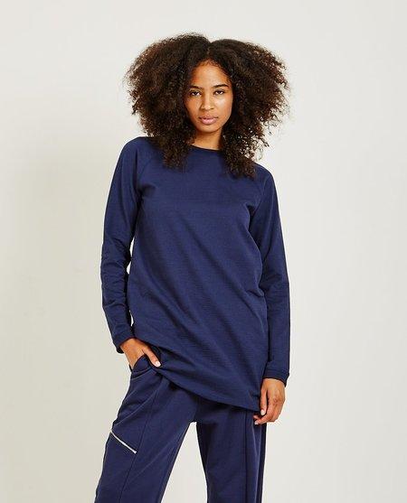 YMC Daisy L/S Dress - Navy