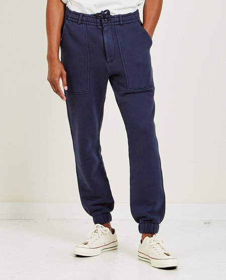 Alex Mill Field Chino French Terry Pant - DRK NVY