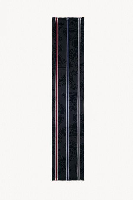 Vivienne Westwood Paris Orb Scarf - Black