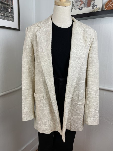 [Pre-Loved] Vintage Dumas Blazer - Beige