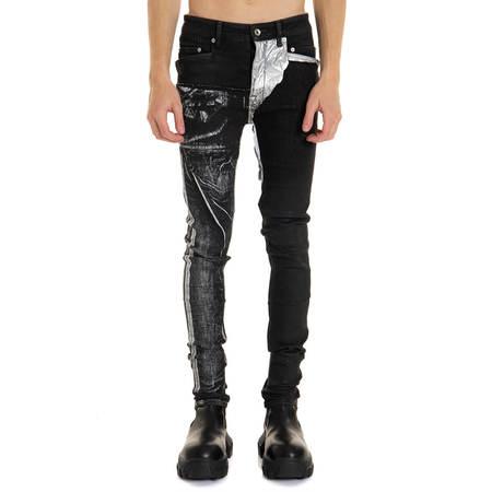 RICK OWENS DRKSHDW Tyrone Cut Jeans - Black