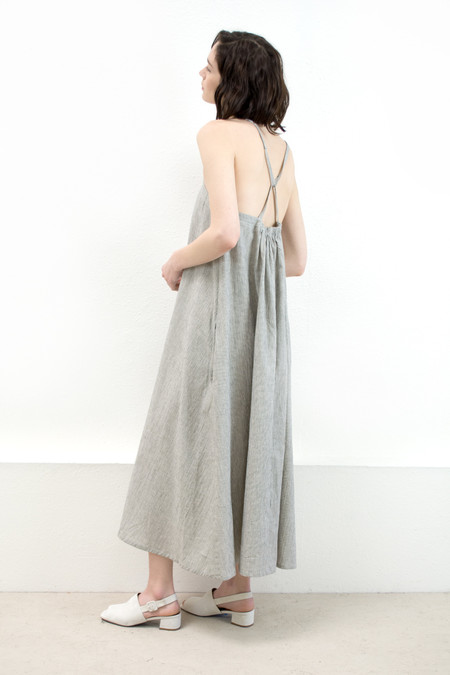 Micaela Greg Stripe Loop Dress