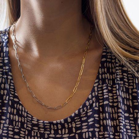 Alynne Lavigne 'Two Tone Chain' necklace