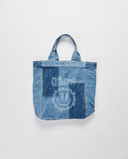 Ganni Cutline Core Bag - Denim