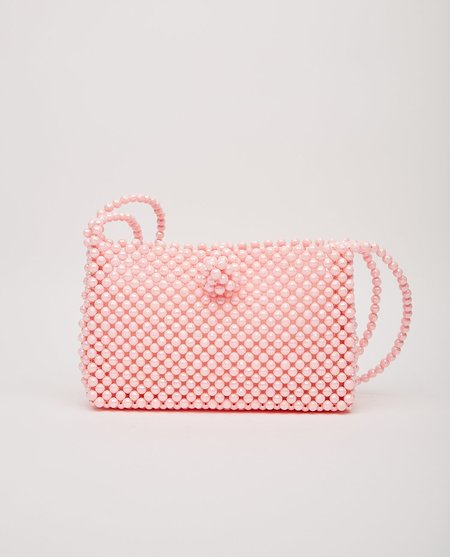 HANDS BAG The Audrey Beaded Bag - Pink