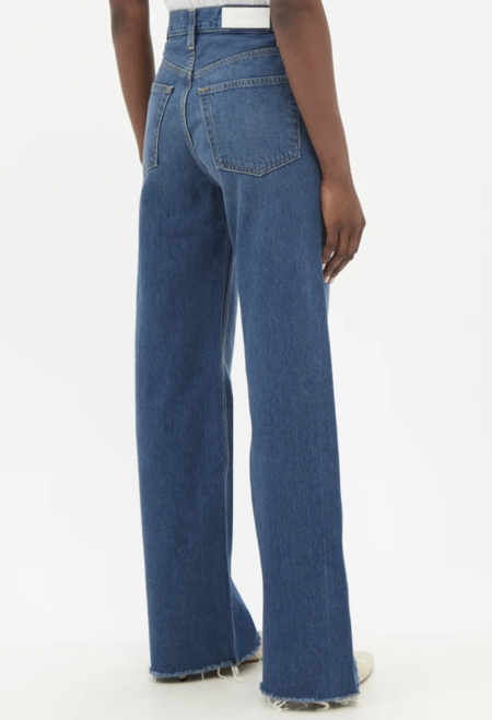 Re/Done 70s Ultra HighRise Wide Leg - blue