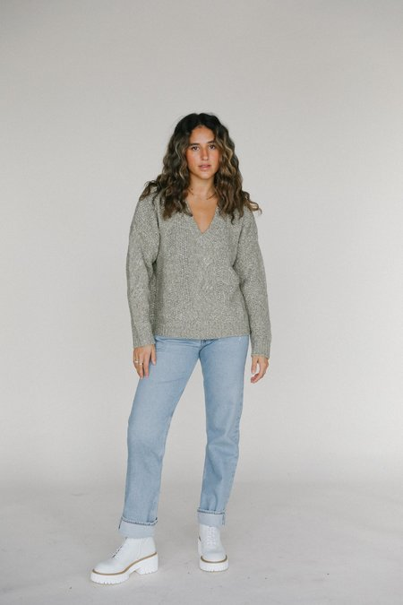 Line the Label Alma Sweater - Willow