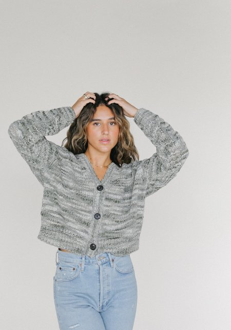 Line Line the Label Evelyn Sweater - Green Lily