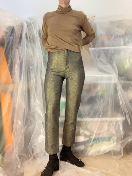 Lotta Pants - Black/Gold Glitter