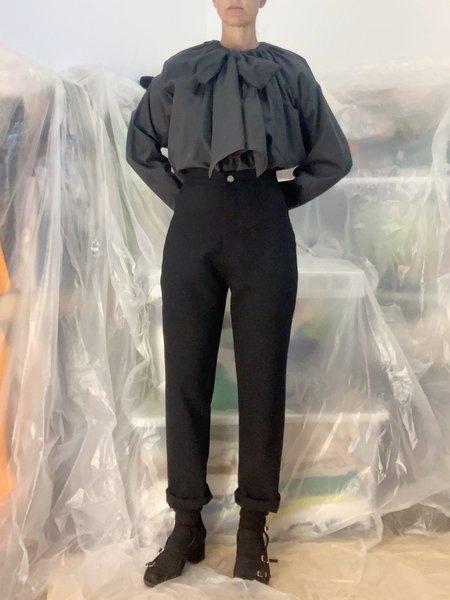 Lotta Wowen Wool pants - Black