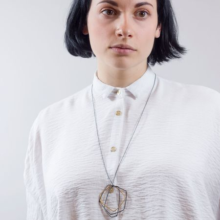 Gabrielle Desmarais '3 element' necklace