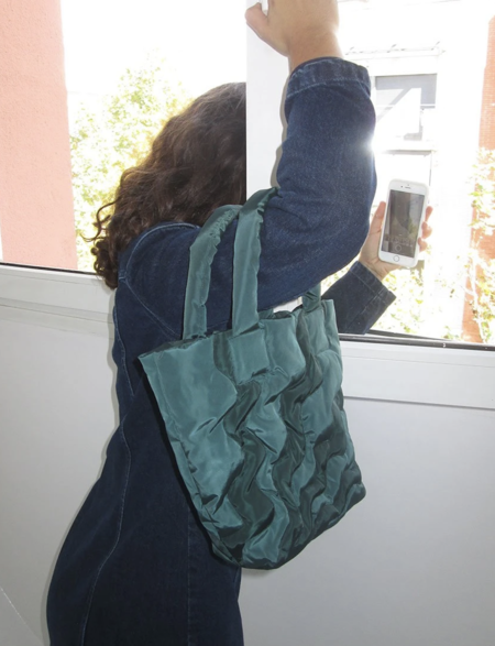 Paloma Wool Kanagawa Bag - Dark Green/Brown