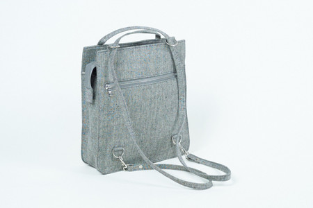 Clyde Best Bag in Grey Denim