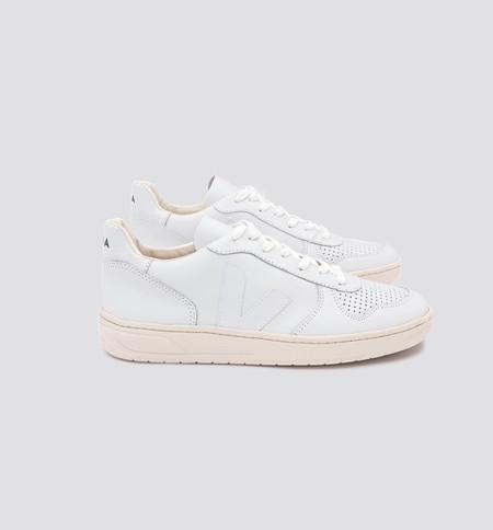 UNISEX VEJA V-10 Shoes - White
