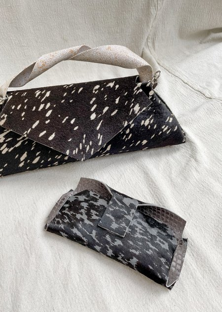 IL Cigno Nero Pyramid Bag - Black