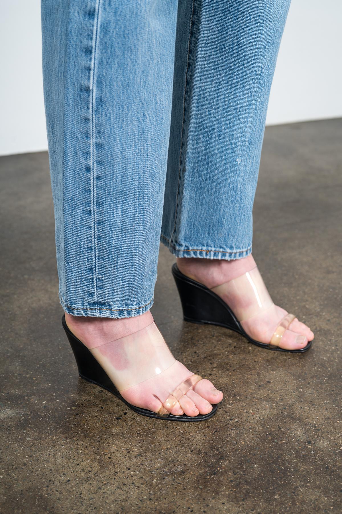 MARYAM NASSIR ZADEH Olympia wedge sandals pkf0WcPae7