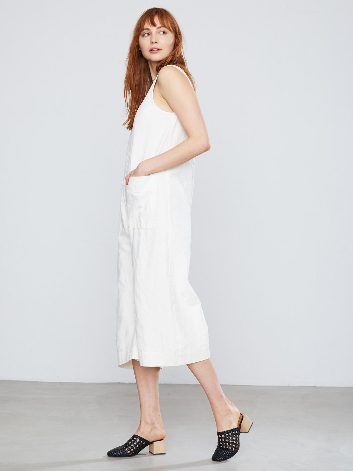 Ilana Kohn Milo Jumpsuit In Cream Garmentory