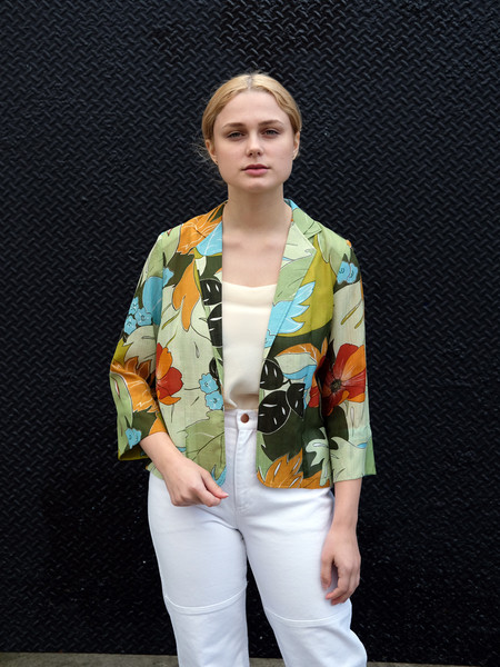 Shop Boswell Vintage Tropical Blazer