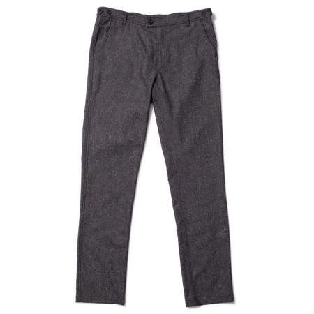 Corridor Tropical Wool Trouser - Grey