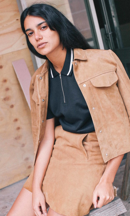 Wood Wood TESSA SUEDE JACKET