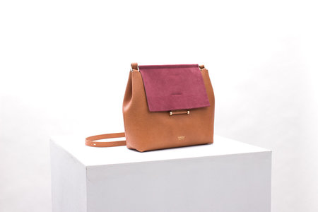 IMAGO-A Nº42 Carré Shoulder - Raspberry Multi