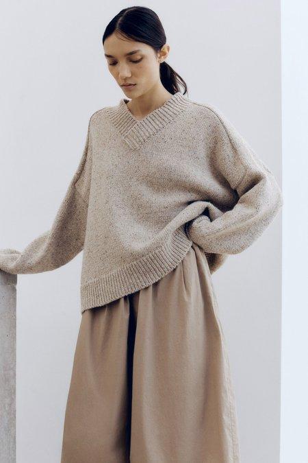 Mónica Cordera Soft Wool Sweater - Taupe