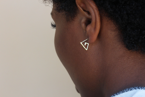 Alynne Lavigne Small Spiral Earrings