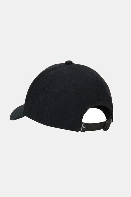 Stone Island Wool Cap - Black