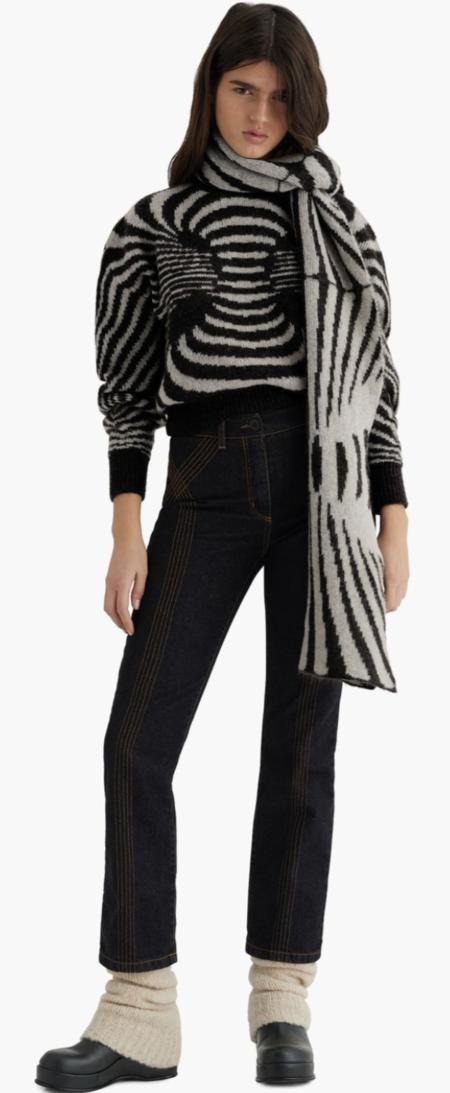 Paloma Wool Oraculo scarf - black