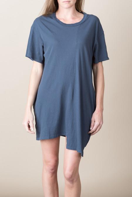 Lacausa Mini T Dress In Velvet