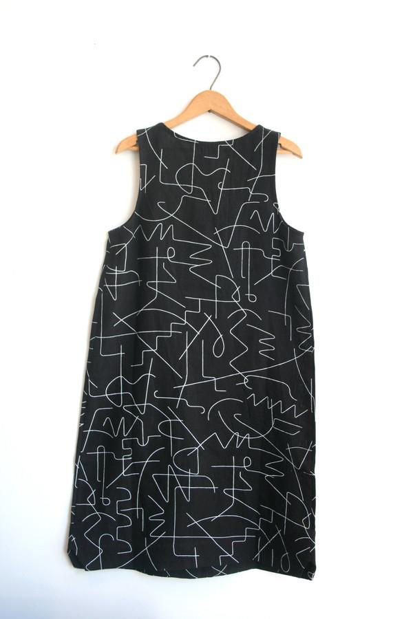 Dusen Dusen Notch Tank Dress