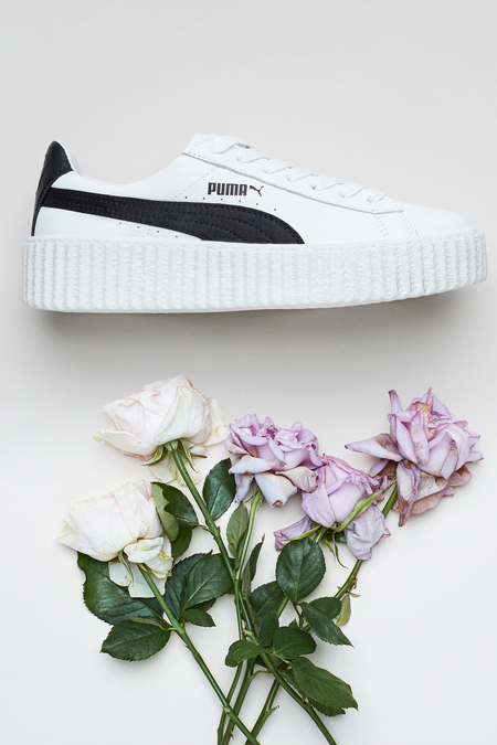 PUMA Rihanna Fenty Creeper- White/Black