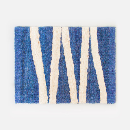 Someware Bonita Door Mat - Blue & Nude