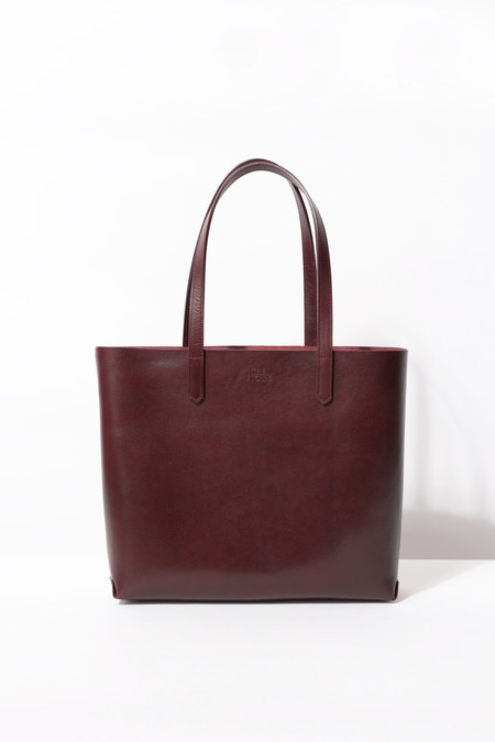 The Stowe KATIE TOTE BORDEAUX