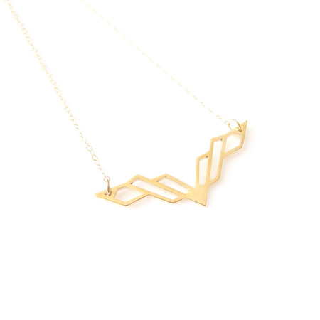 Matters of Delight - Volo Necklace Gold