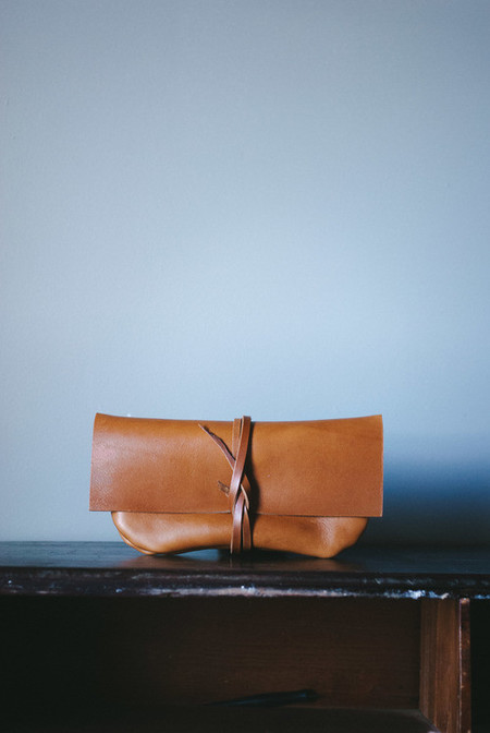 Peartree Leather Classic Clutch