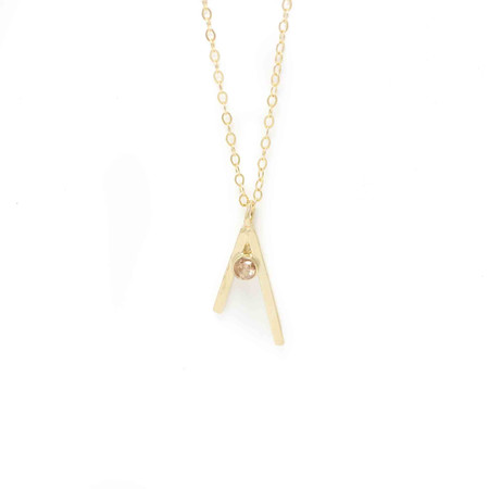 Wolf Circus Raya Necklace Gold