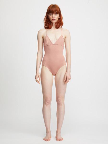 Colorant Aiden Bodysuit - Old Rose