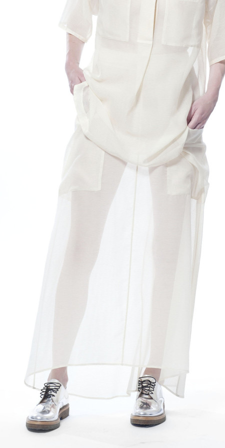 SCHAI Globe Maxi Skirt
