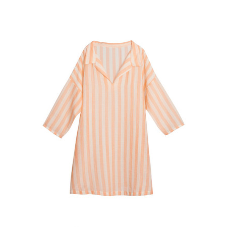 Kid's Little Creative Factory Striped Girl's Tunic
