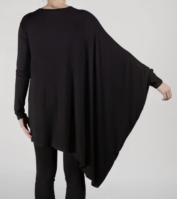 Brit Wacher Drape Knit Tee