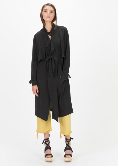 Margaux Lonnberg Sean Silk Robe Coat