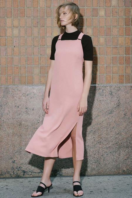 Nomia Strap Midi Dress - Coral
