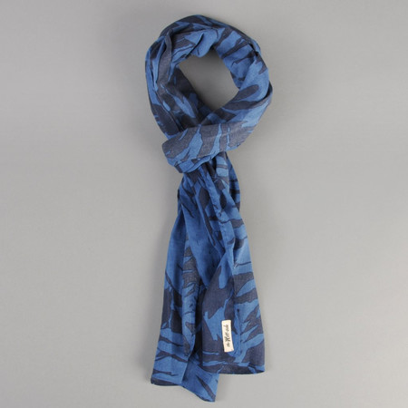The Hill-Side Ultralight Palm Leaves Print Scarf