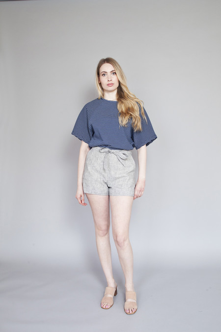 Betina Lou Claude Shorts Grey