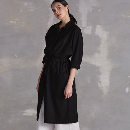 Kowtow Detour Shirt Dress - Black