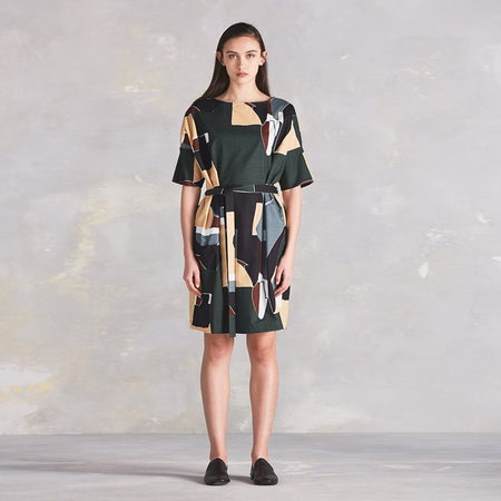 Kowtow Script dress - dreamscape