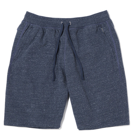 ADIDAS X REIGNING CHAMP FTFZ SHORTS - HEATHER NAVY