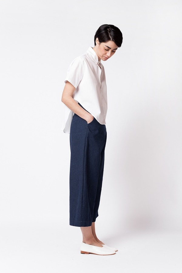 One of A Few Denim Culottes